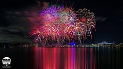 NDP 2016 Preview Fireworks (kenneth chin) Tags: ndp2016 singapore asia tanjungrhu indoorstadium kallangriver singaporenationalstadium fireworks google yahoo sg51 nikonsingapore 1424f28g d810 nikkor nikon