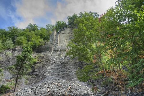 Taughannock Falls - Gorge Trail 18  - Chute