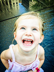 Toddler Joy (ryotnlpm) Tags: toddler joy happiness smile big happy iphone 6s teeth grin grinning smiling girl lookingup