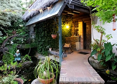 Pequeo paraso (Franco DAlbao) Tags: francodalbao dalbao fuji casa house plantas plants jardn garden fundacinsales vigo parquebotnico botanicpark paraso paradise