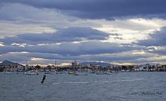 kitesurf en Lo Pagn (Fotgrafo-robby25) Tags: atardecerenelmarmenor fujifilmxt1 kitesurf lopagnmurcia marmenor nubes salinasyarenalesdesanpedrodelpinatar