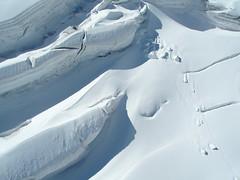 Rughe di montagna (davidevarenni) Tags: bianco crepacci rughe montblanche montebianco ghiacciaio
