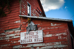 Ether's Haunted Roller Mill (No Talent Bum) Tags: ether ethernc nc northcarolina montgomerycounty nikon nikond5300 hauntedhouses rollermills abandonedbuildings abandonedmills abandoned montgomerync