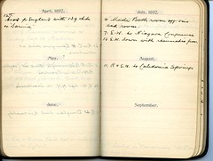 Diary of Robert Wallace p.26 (Community Archives of Belleville & Hastings County) Tags: 1880s 1890s 1900s 1910s 1920s diaries homechildren