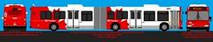 New Flyer D60LF_6001 Original (daviddandie903) Tags: octranspo newflyer artic d60lf transitdrawings transit busdrawings