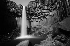 Svartifoss (Rnn) Tags: iceland water waterfall steam basalt basaltic organ pipes