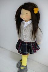 "KATRINA 20"" doll (Dearlittledoll) Tags: waldorf waldorfdoll steinerdoll dearlittledoll naturaldoll naturalkids naturaltoy organicdoll limbeddoll puppet"