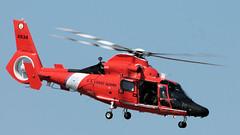 Dolphin (blazer8696) Tags: 2016 ecw kswf ny newwindsor newyork swf stewart stewartterrace t2016 usa unitedstates air airshow show 6534 atlantic city coast dolphin eurocopter guard helicopter hh65 img2135 uscg