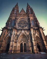 timor Domini (cherryspicks (intermittently on/off)) Tags: stvitus prague church cathedral gothic architecture building historic timordomini worship lowpov czech