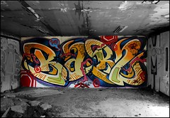 Bab2 (P19) (Chrixcel) Tags: bab2 p19 graff graffiti volume 3d dsaturation streetart arturbain tag lettrage letters