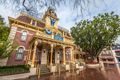 Disneyland City Hall (Samantha Decker) Tags: anaheim ca california canonef1635mmf28liiusm canoneos6d disneyland mainstreetusa samanthadecker socal socal16 themepark