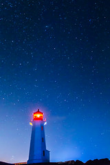 IMG_3754-1 (langdon10) Tags: atlanticocean canada canon70d clearskies lighthouse novascotia peggyscove shoreline longexposure