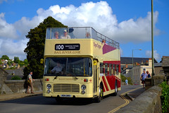 Sunday best (The return of the spiceymexrice!) Tags: riverlink dartmouthsteamrailwayriverboatco bristolvr bristolvrt ecw vdv138s 4 illustrious 100 totnes devon sunshine opentopbus doubledecker railriverlink opentopper westernnational fujifilmxt10 fujifilm1855ois