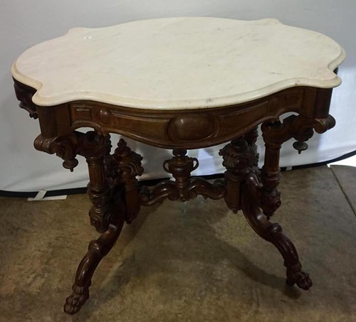 Marble Top Table ($448.00)