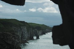 Paradises of our world. (Jorgepevet) Tags: nothernireland unitedkingdom paradise acantilado dunlucecastle landscape explore explored
