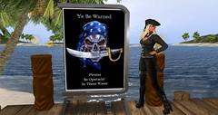 begin hunt shot_001 (Libertybelle Lyric) Tags: libertybellelyric joeyaboma whitetigersislands pirate hunt secondlife destinations