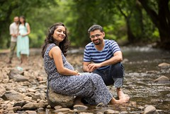 WhogetsBetterPhotos (Tejes Nayak) Tags: blue color designer g garment gown green grey location maternity maxi momtobe outdoor people pregnancy river sgnp shoot storyteller stripes style surbhi water tejesn