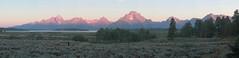 Teton dawn (RPahre) Tags: tetons grandtetonnationalpark grandtetons pano panorama mountains dawn morning