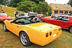 Corvette C4 Convertible (Trucks and nature) Tags: usa classic chevrolet rock america open top small n convertible s 350 roll block 80 corvette 90 v8 vette roadster c4 smallblock lt1 lt5