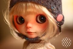 commission for P.Paap Kuloft (❝ white polka ❞) Tags: white paris doll ooak polka blythe prima dolly fbl cuatom primadollyparis whitepolka