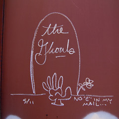THE GHOULS (TRUE 2 DEATH) Tags: railroad art train graffiti streak tag graf railcar boxcar sws railways hobo d30 railfan freight wh gtb freighttrain ghouls monikers moniker meanstreaks a2m hobotag hobomoniker hoboart benching paintsticks railroadart boxcarart oilbars freighttraingraffiti theghouls markals noeinmymail