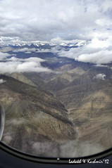 Ladakh from the air (poonam.agarwal.s) Tags: travel india nature landscape kashmir ladakh