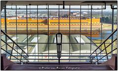 Framed view (PvRFotografie) Tags: architecture rotterdam industrial view framed uitzicht industrie architectuur vannellefabriek fujix10 fujifinepixx10