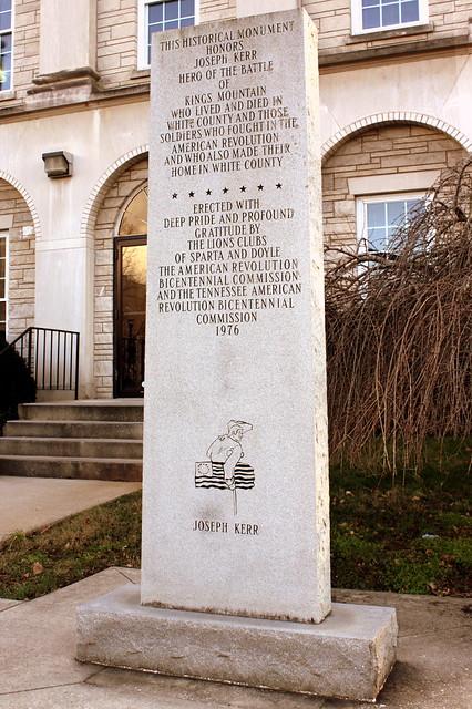 Joseph Kerr Monument - Sparta, TN