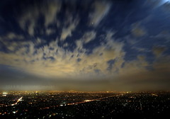 Smoke and clouds (PhotoArt Images) Tags: view smoke australia le adelaide bluehour nikond700 nikon2470mm28 smokeandclouds photoartimages