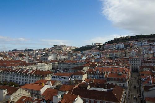 Lisboa from Snata Justa lift ©  Still ePsiLoN