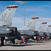 Singapore F-16 line-up