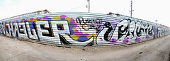 Haeler, Fucte (TheHarshTruthOfTheCameraEye) Tags: 30 graffiti la losangeles los al angeles large run dirty kings otr msk mad tnt society d30 nct fuct atlarge ontherun madsocietykings dirty30 btm losangelesgraffiti hael haeler purplecity fucte 3ak