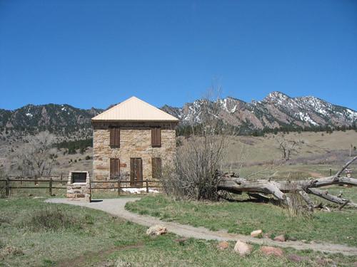 Photo - Historic Dunn House at South Mesa Trailhead