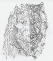 Wolfwoman 001 (Fruen Hansen) Tags: woman me wolf you wolfwoman