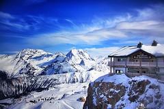 Day 60 - Le Panoramic (William Adam) Tags: mountain snow restaurant day skilift gondola slope courchevel1850 williamadam lepanoramic