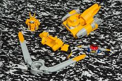 DSC_1217 (Quantum Stalker) Tags: blue red rabbit yellow silver gold king ranger power gorilla ace go beetle frog combine oh cheetah buster custom beet combination bandai toei sentai heracles bc04 gattai cb01 lt06 rh03 raioh tokumei gobuster gt02 tategamilioh sj05stagvehicle fso0 fs0s gobusteroh greatkero