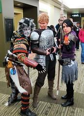 Khajiit Dragon Age (Lucky--Cat) Tags: cat costume feline cosplay armor convention alistair luckycat emeraldcitycomicon morrigan khajiit dragonage skyrim