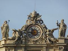Vatican City ~ St Peter's Basilica (army.arch) Tags: vatican stpeters clock church basilica unesco worldheritagesite vaticancity 1145