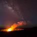 First Light Over Kilauea Caldera