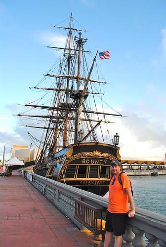me sailboat self myself harbor ship oldsanjuan puertorico tallship bounty sailingship bountyship