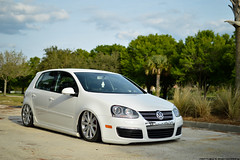 Slammery (Matthew C. Photography) Tags: white vw 35mm golf photography nikon ride conversion matthew c air low wheels front end jetta gti f18 lowered dropped slammed r32 airbags bagged d3200