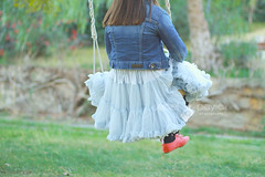 Swing (Isabel Pava) Tags: girl childhood children fun funny child swing getty claudia tutu gettyimages gettyimagesspain