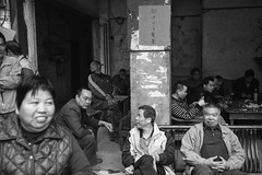 Gathered (van*yuen) Tags: guangzhou china leica blackandwhite bw documentary summicron demolished m9 citysnap 352 leicam urbanabandonments fillitup summicron352asph leicam9 march2013