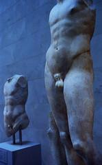 The Male View-2004-New York Metropolitan Museum of Art (Photography By Walt) Tags: world male statue alaska museum ancient roman torso metropolitan physique