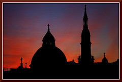 Sacramento_2120d (bjarne.winkler) Tags: skyline one evening spring sacramento