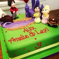 Princesses & Pirates Birthday Cake