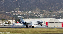 N100ES  G650 S/N: 6014 (KSBD Photo) Tags: airport bur burbank g6 aerospace bobhope gulfstream kbur g650 n100es glf6 sn6014