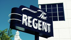 the regent (eFB) Tags: sign typography hotel neon miami artdeco regent southbeach theregent