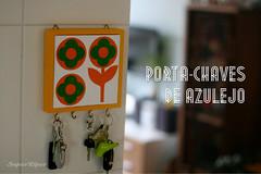 porta-chaves (super_ziper) Tags: vintage keys casa handmade craft porta decor azulejo decorao pap chaves dyi superziper