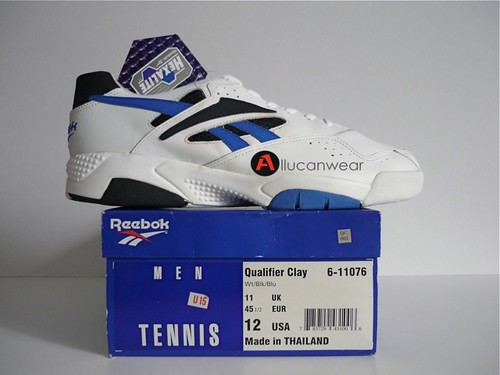 71765be136ec6e UNWORN VINTAGE REEBOK QUALIFIER CLAY HARD COURT TENNIS SPORT SHOES